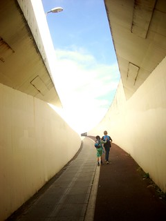 Through the tunnel to Whitehawk 1