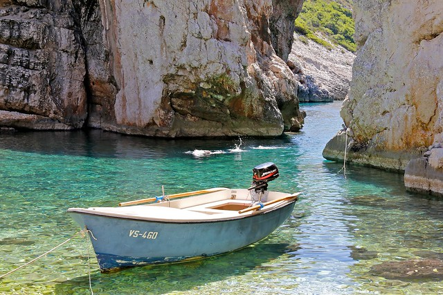 Stiniva beach, Vis, Croatia