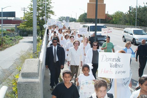 March 2010-Lawrence,MA - In memory of Gladys Ricart and other victims of domestic violence