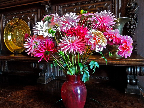 Flowers in Scotney House by Irene.B.