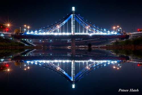 藍天白雲橋 - Blue sky & white clouds bridge - Taichung City