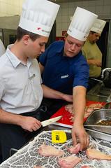 Die IT Profis beim Kochen.