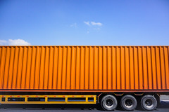 vehicle, transport, trailer truck, freight transport, land vehicle,