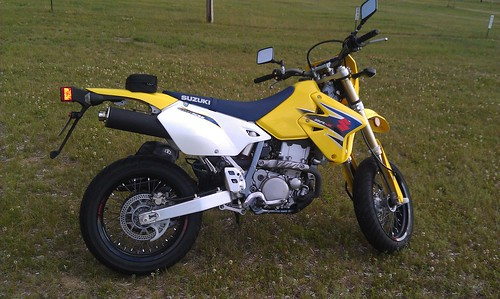 My DRZ400 SuperMoto Touring project!