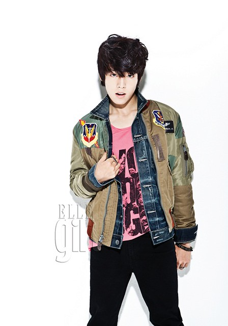 Lee Hyun Woo in Elle Girl Magazine October Issue