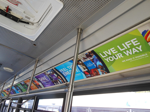 Posters for Interior Bus Advertising