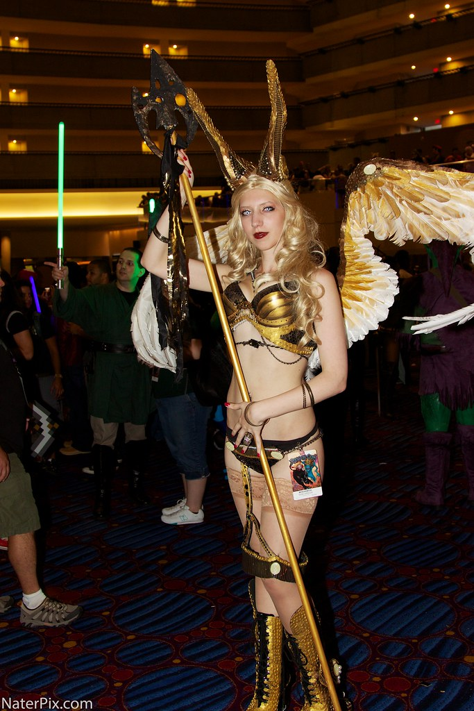 Witchblade Dragoncon 2012