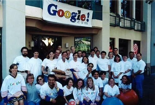 The first team of Google.
