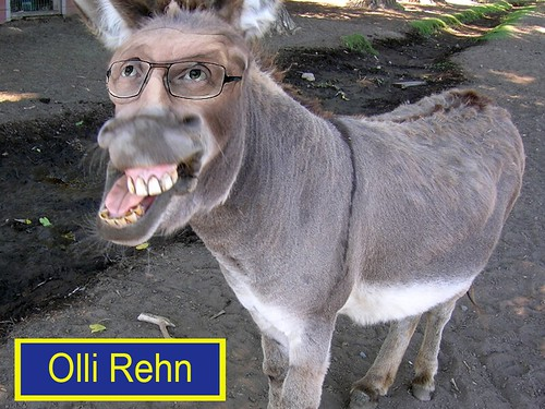 OLLI REHN by Colonel Flick