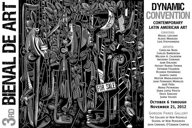 III Bronx Latin American Art Biennial 2012