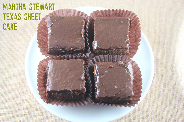 Martha Stewart Texas Sheet Cake