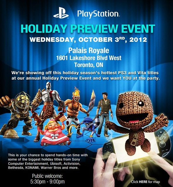 PlayStation Canada Holiday Preview 2012