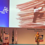 Economics Professor Noreena Hertz at CEMR 2012 in Cadiz: think differently