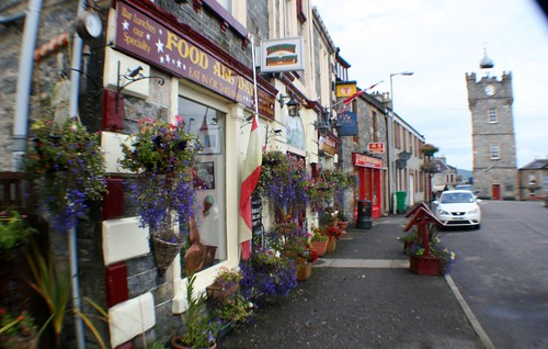 Dufftown Street Scene, Speyside