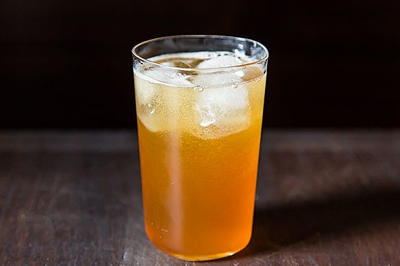 Pomegranate Molasses Soda