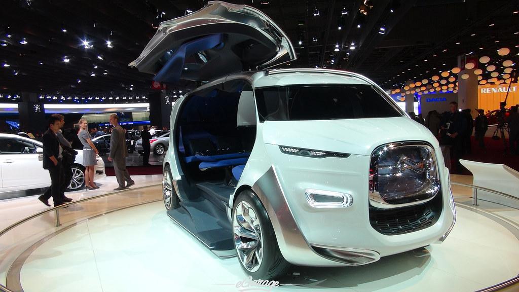 8034737543 24d015ea0c b eGarage Paris Motor Show Citroen Concept