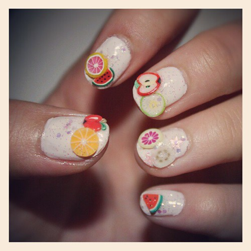 Fruity nails by tinawirely