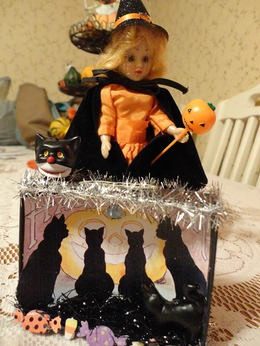 witch and mini shadow box