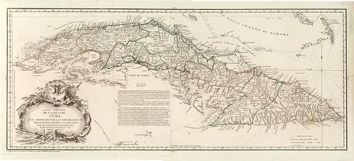 003-Carta maritima de la Isla de Cuba 1783