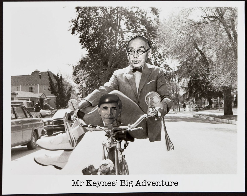 MR KEYNES' BIG ADVENTURE
