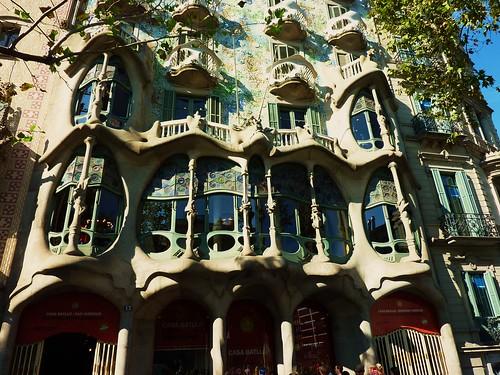 barcelona, modernisme, casa battlo