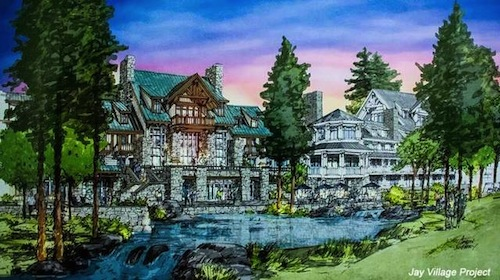 Jay Peak Village rendering