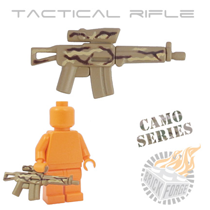 Tactical Assault Rifle - Dark Tan (camouflage)