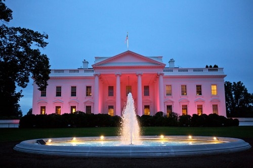 WHITEHOUSE: Pink for Breast Cancer Awareness