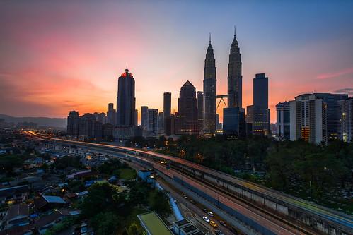 night sunrise clear