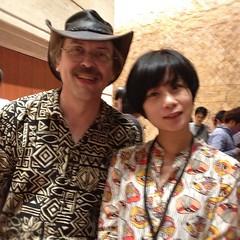 Perlの神様Larryとトゥーショット!!!#yapcasia