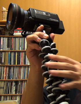 カメラグリップとして