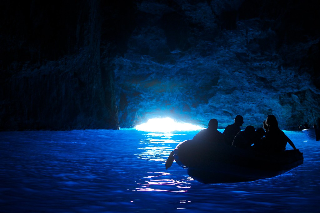 Cueva Azul, Grecia. Foto: Tatsushi Okamoto