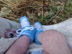 piedini di Diego allo stagno