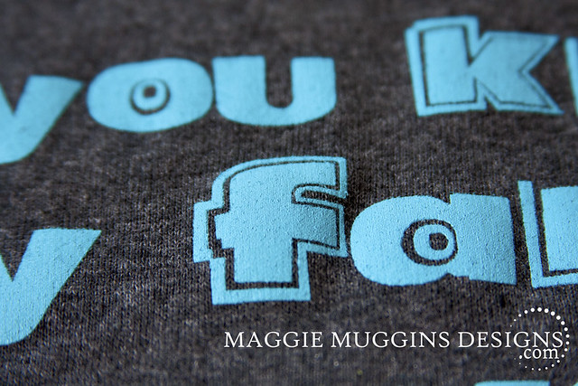 Close up of Family T-Shirt Details