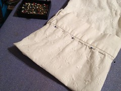 White Blouse Alteration - Sleeve