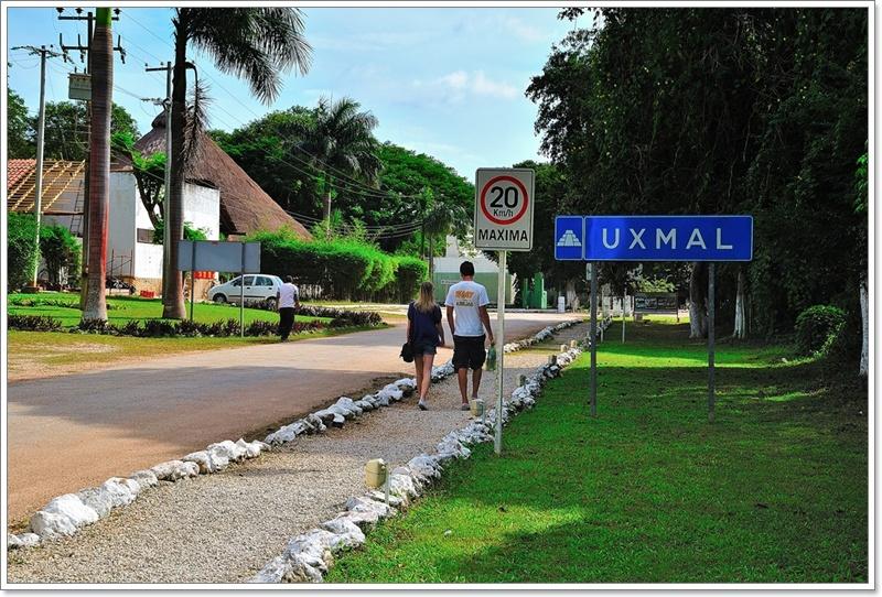 11烏斯馬爾入口