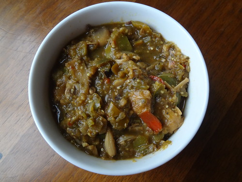 "2012.10_vegan ""pork"" green chili"