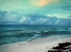 [フリー画像素材] 自然風景, 海, ビーチ・海岸, 雲, 風景 - バハマ ID:201210122000