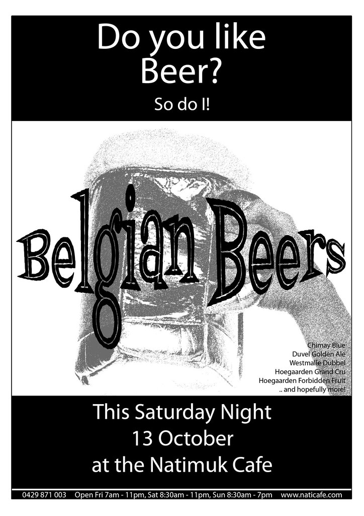 Belgian-Beer-Night_Natimuk-Cafe_Sat-13-Oct