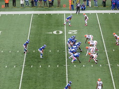 Eli Manning under center