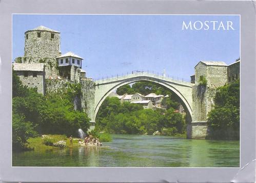 Mostar Bridge-Bosnia Hercegovina