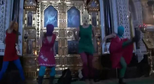 Pussy Riot in Church