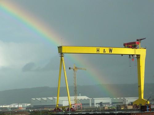 Rainbow H&W Crane Belfast