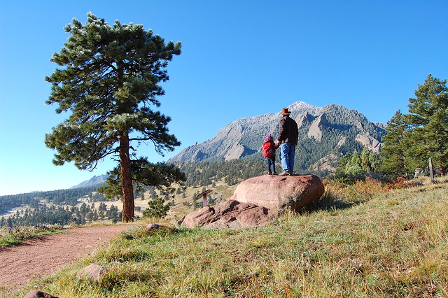 Scouting - Hiking at NCAR, Boulder, CO