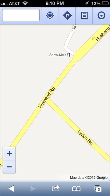 Google Maps - zoom 2