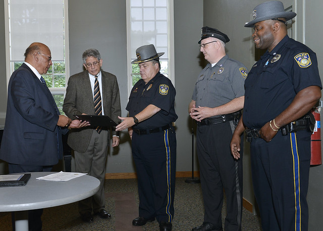 University Police Swearing In and Awards Ceremony