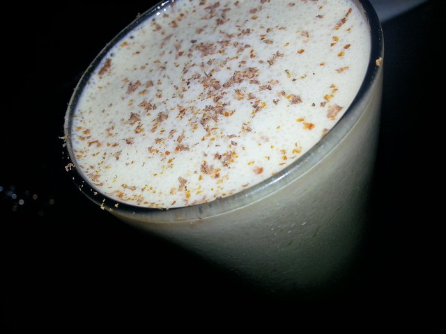 Bourbon milk punch by Caroline on Crack