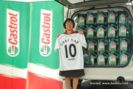 Low Chai Har Castrol Predictor Challenge Grand Prize Winner