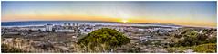 Costa da Caparica panoramic view