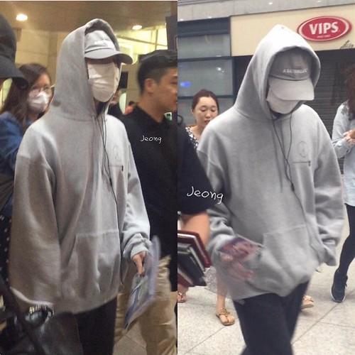 BIGBANG arrival Seoul ICN from Macau 2016-09-05 (9)